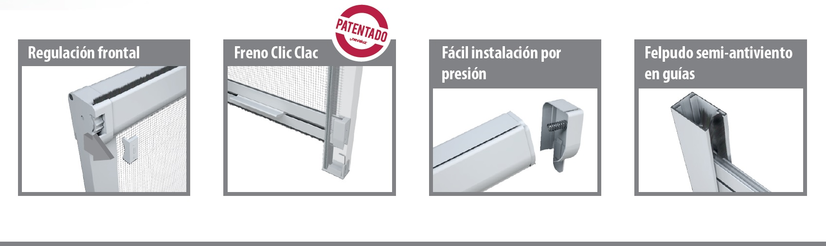 The Swing Mosquito Net Head Includes A New Pressure Installation System To Fit Any Gap In Windows Or Doors